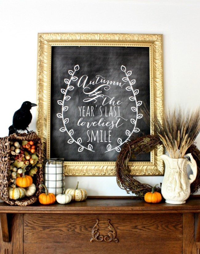 17 Free Fall & Autumn Printable Decor