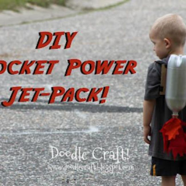 Super Sci-Fi Jet Pack {Cool Crafts}