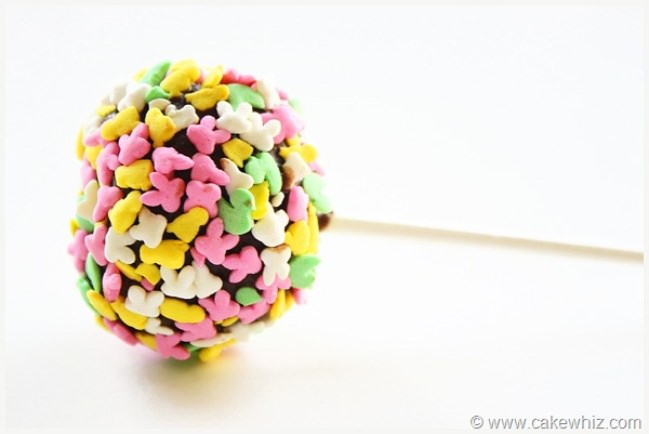 Easy ways to decorate cake pops