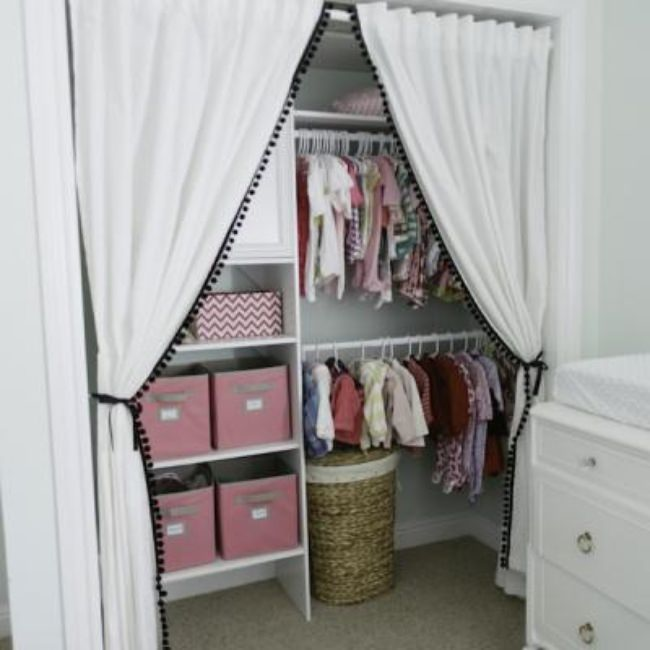 Stylish Children's Closet {Closets}