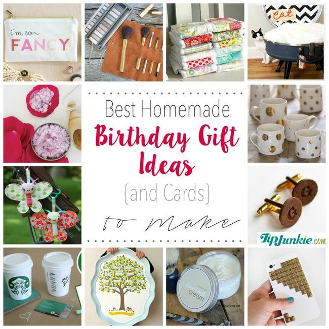 Best Homemade Birthday Gift Ideas {and Cards} to Make-jpg