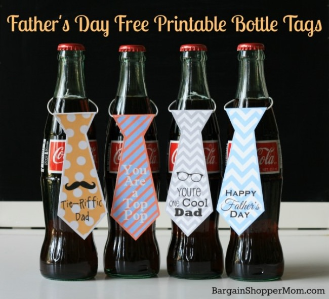 Printable Bottle Tags