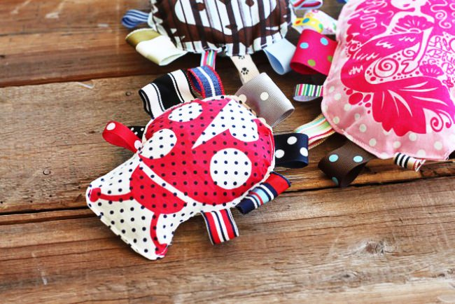 Scrap Ribbon Tag Toy