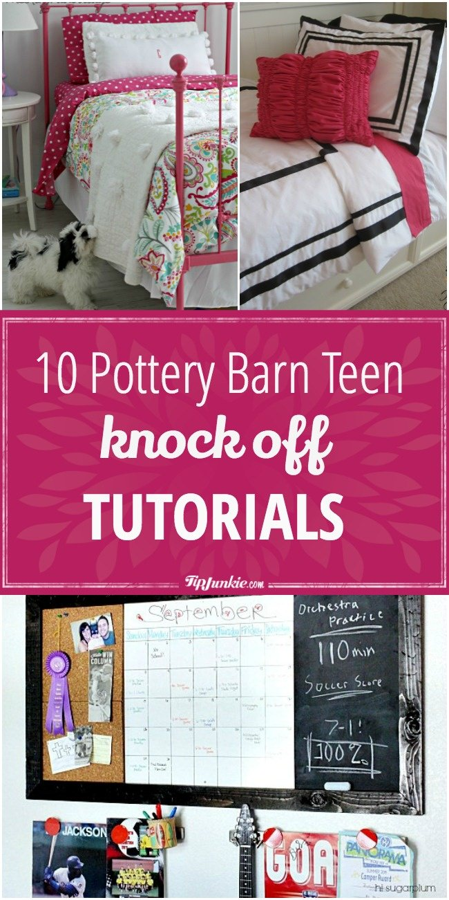 10 Pottery Barn Teen Knock Off Tutorials-jpg