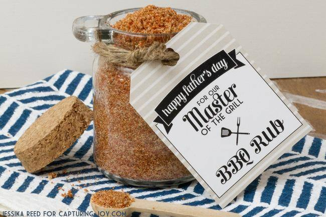 BBQ Rub Recipe {free printable}