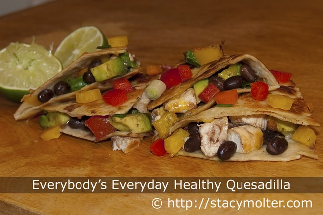 Everybody's Everyday Healthy Quesadilla Recipe