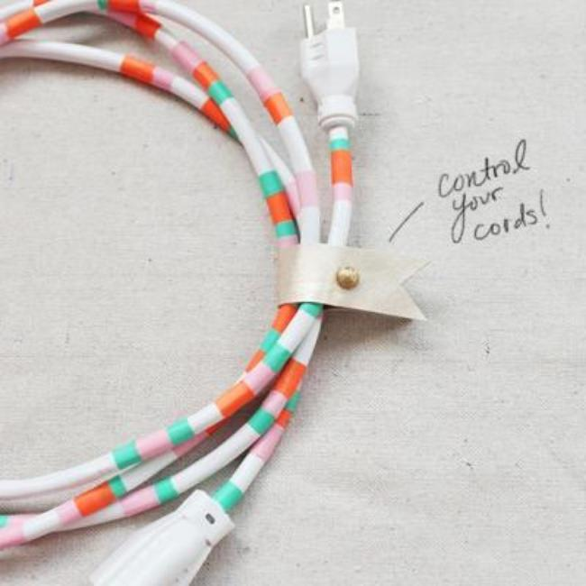 Dress Up Your Tech Cords {Technology}