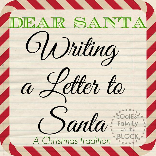 Make Writing a Letter to Santa a Christmas Tradition