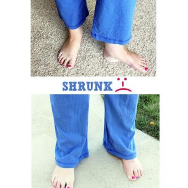 How to Un-Shrink Clothes {Tips}