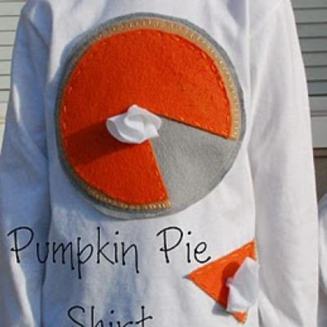 Kids PUmpkin Pie Thanksgiving Shirt {Thanksgiving For Kids}