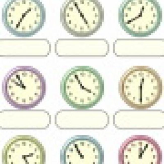 Read Clocks {Free Printables}