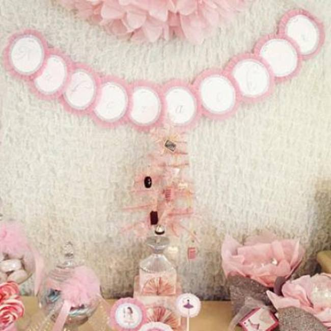 Nutcracker Ballet Themed Party {Girls Party Theme Ideas}