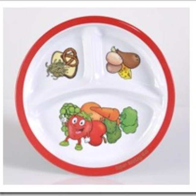 Sectioned Plates for Kids {Fun Gadgets}