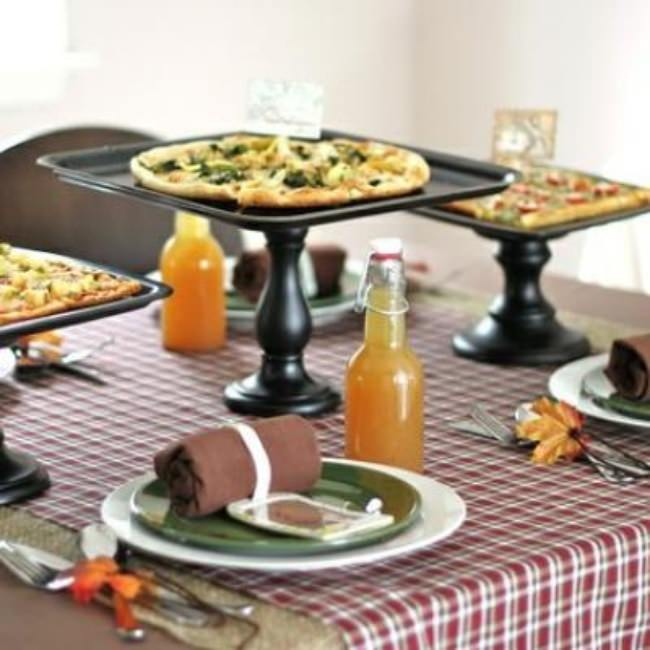 Sophisticated Pizza Party {Pizza Parlor}