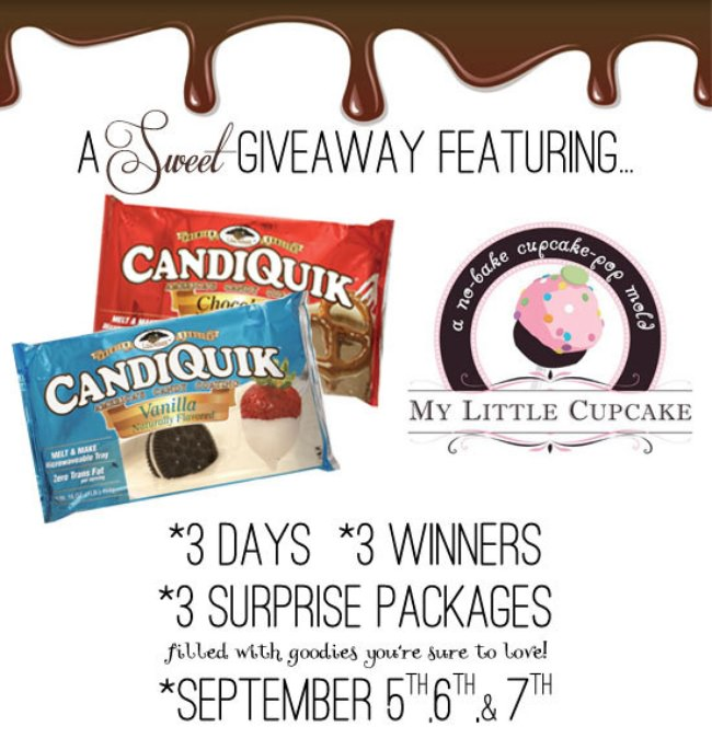 CandiQuik + My Little Cupcake GIVEAWAY!!!