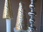 DIY Thumbtack Christmas Trees