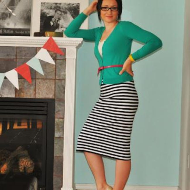 The Perfect Stripe Skirt Tutorial {Skirts}