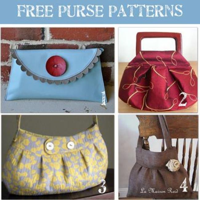 24 Beautiful Purse Patterns