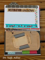Mini-Scrabbook/Travel Album