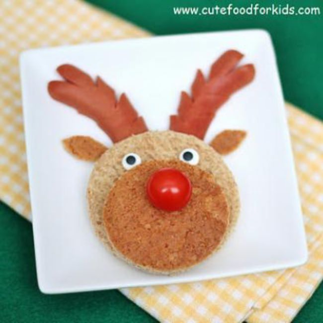 Reindeer Lunch {Christmas Edible Crafts}