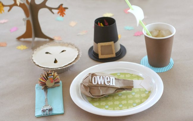19 Kids Thanksgiving Day Table Ideas