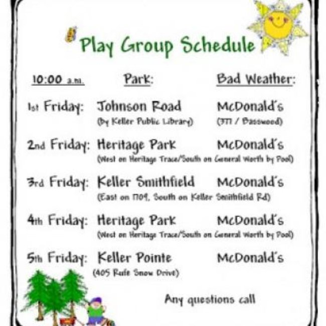 Play Group: At the Park {Parenting}