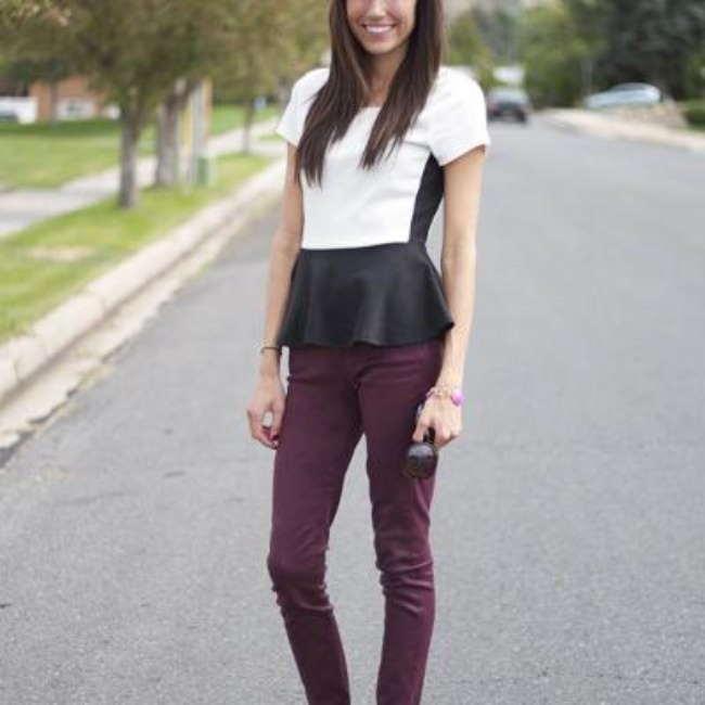 Coated Leather Denim a Fall Trend {Trends}