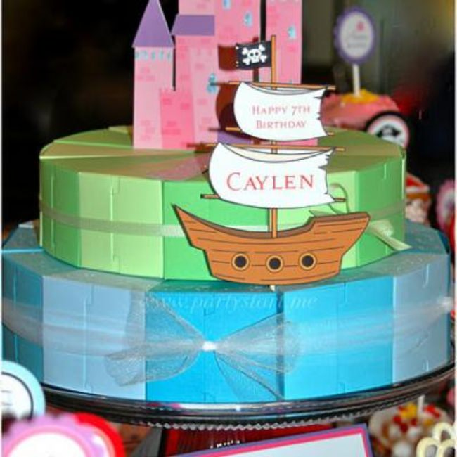 Twin Pirate & Princess Party {Kids Birthday Party}