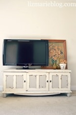 TV Console/ Bench Re-do
