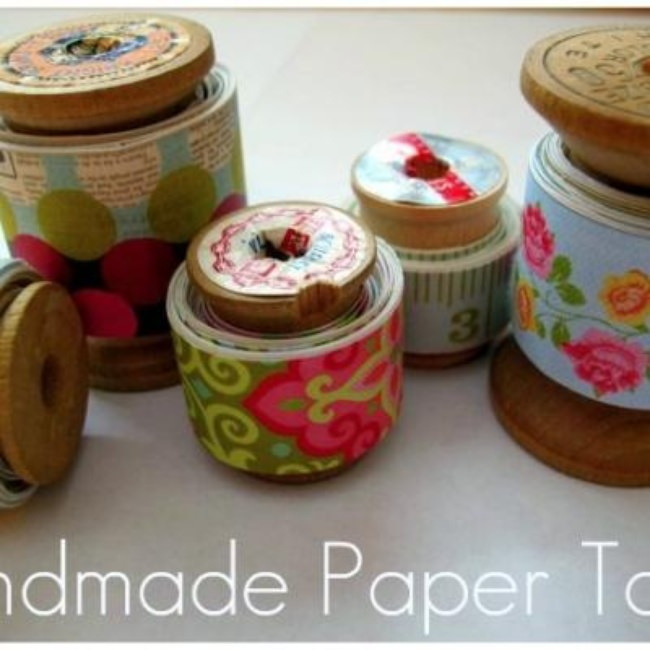 DIY Paper Tape {Tutorial}