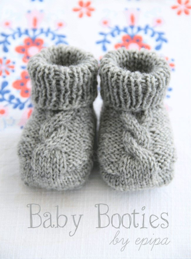 Baby Shoes Pattern Free
