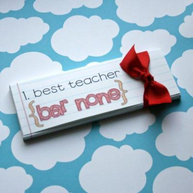 Candybar Cover {Teacher Gift}