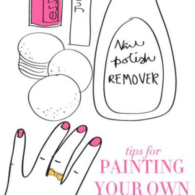How to Paint Your Nails {Nails}