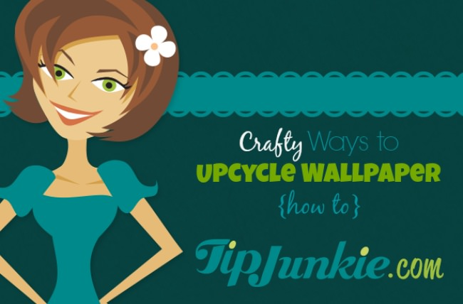 Crafty Ways to Upcycle Wallpaper {how to}