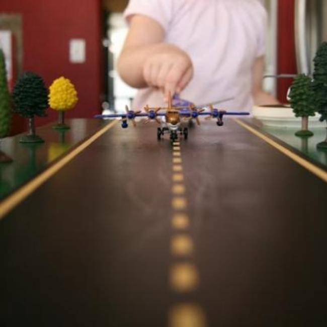 Toy Airplane Runway