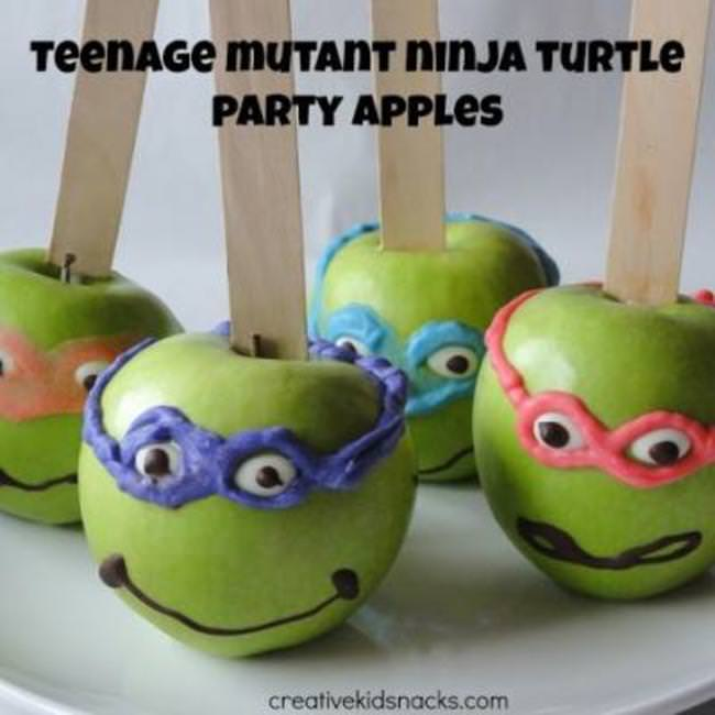 Teenage Mutant NInja Turtle Apples