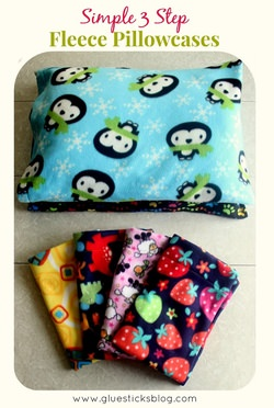 3 Step Fleece Pillowcases