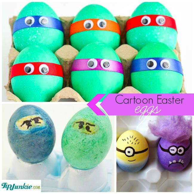 Cartoon Easter Eggs-jpg
