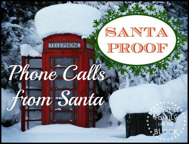 Santa Proof: Phone Calls from Santa Claus