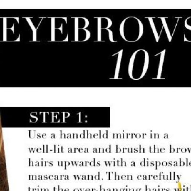 Guide to the Perfect Eyebrows {Makeup}