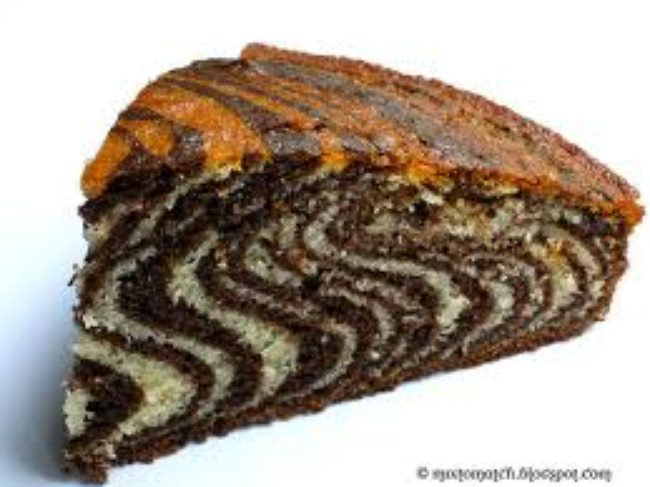 Zebra Striped Cake(Inside)