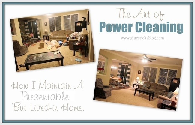 How To Power Clean Your House
