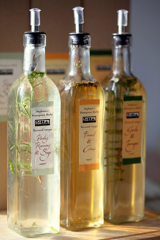 Herb Infused Vinegars