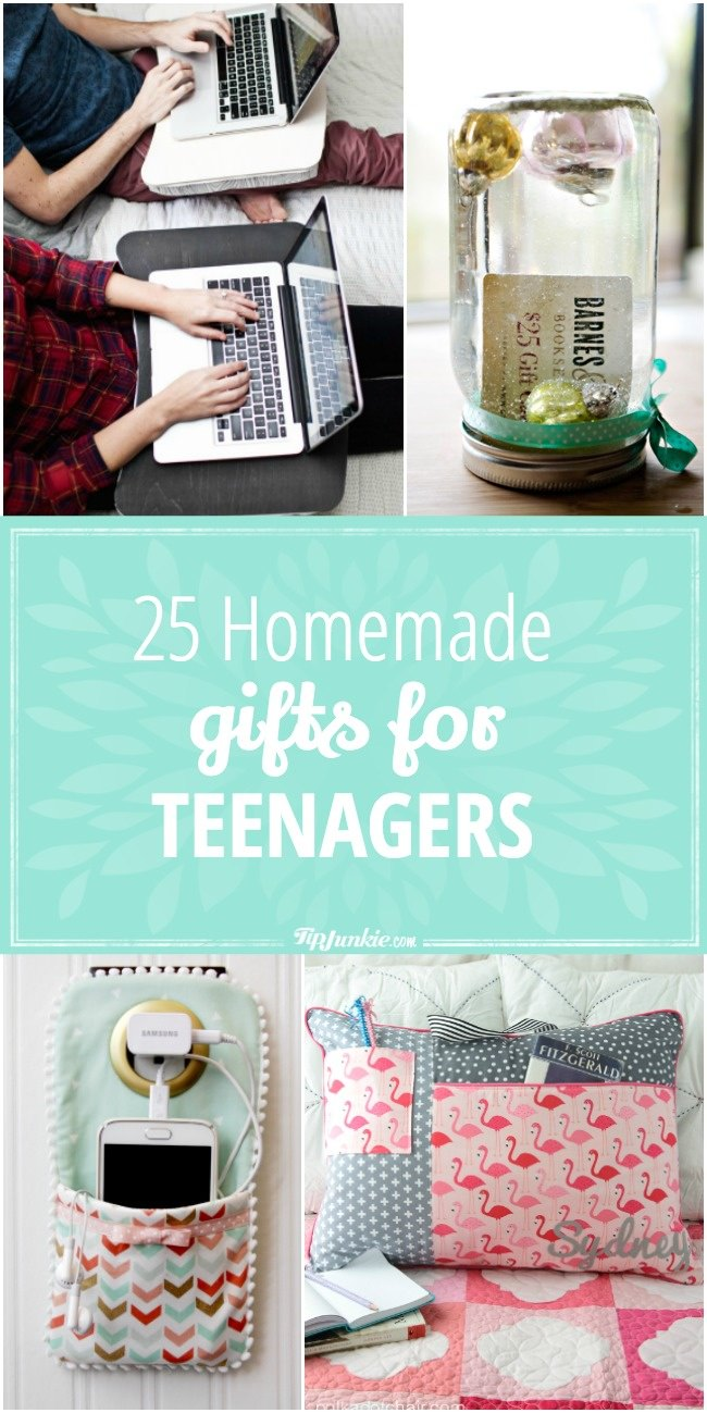 25 Homemade Gifts For Teenagers Tip Junkie