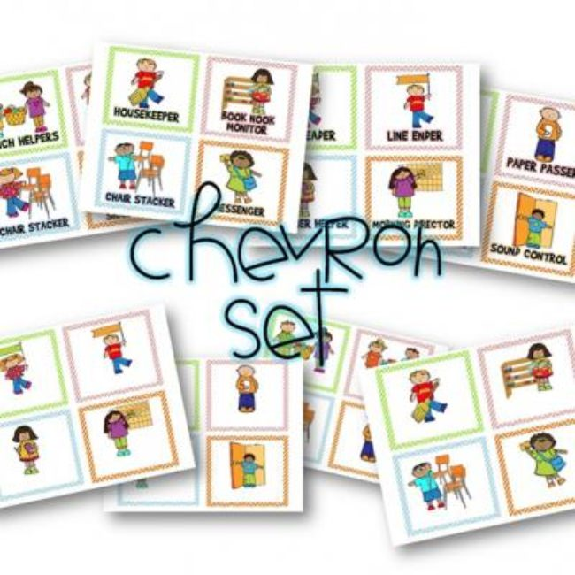 Classroom Jobs Display {Free and Editable}