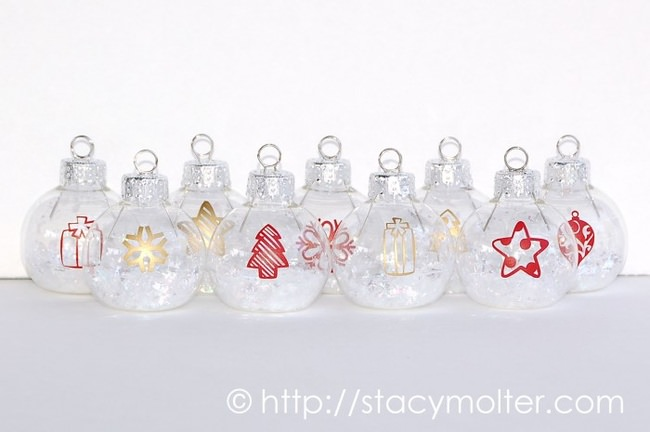 Silhouette Card Holder Miniature Ornaments