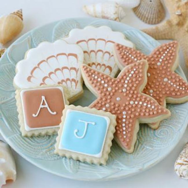 Beach Themed Cookies {How-To}