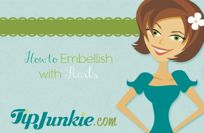How to Embellish with Pearls