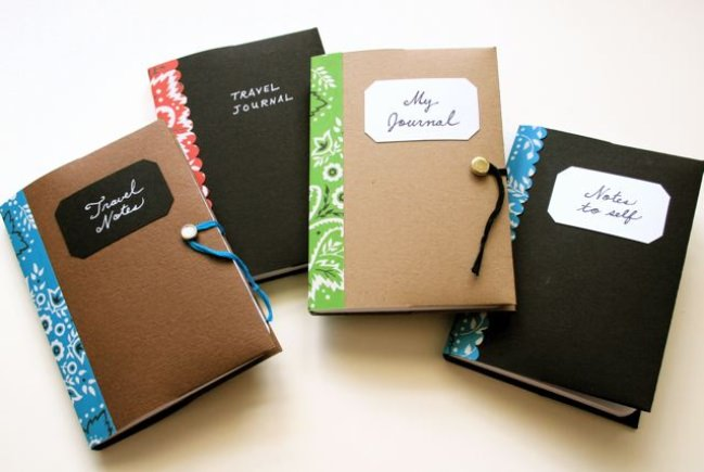 Mini Memo Book Covers {free template}