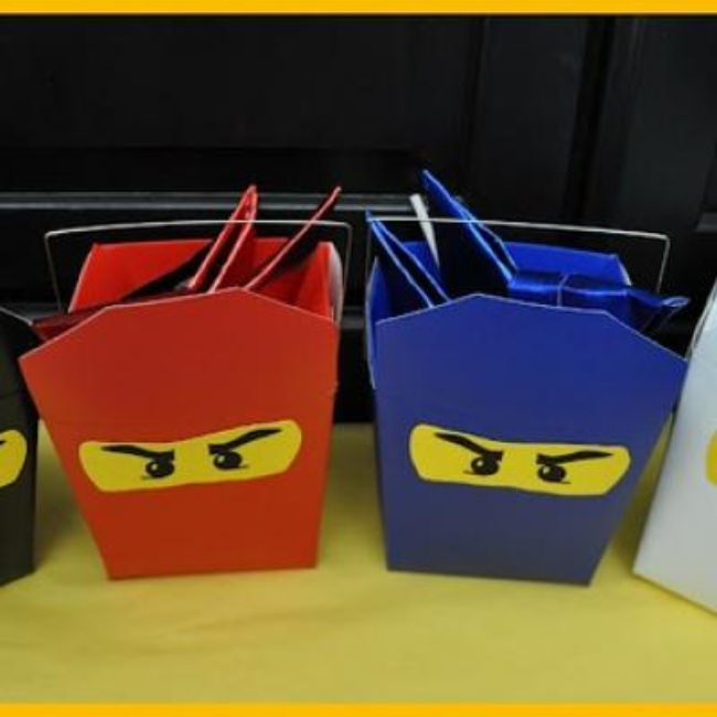 Ninja Party Favors {Boy Party Favor Ideas}